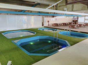 2階室内プール
